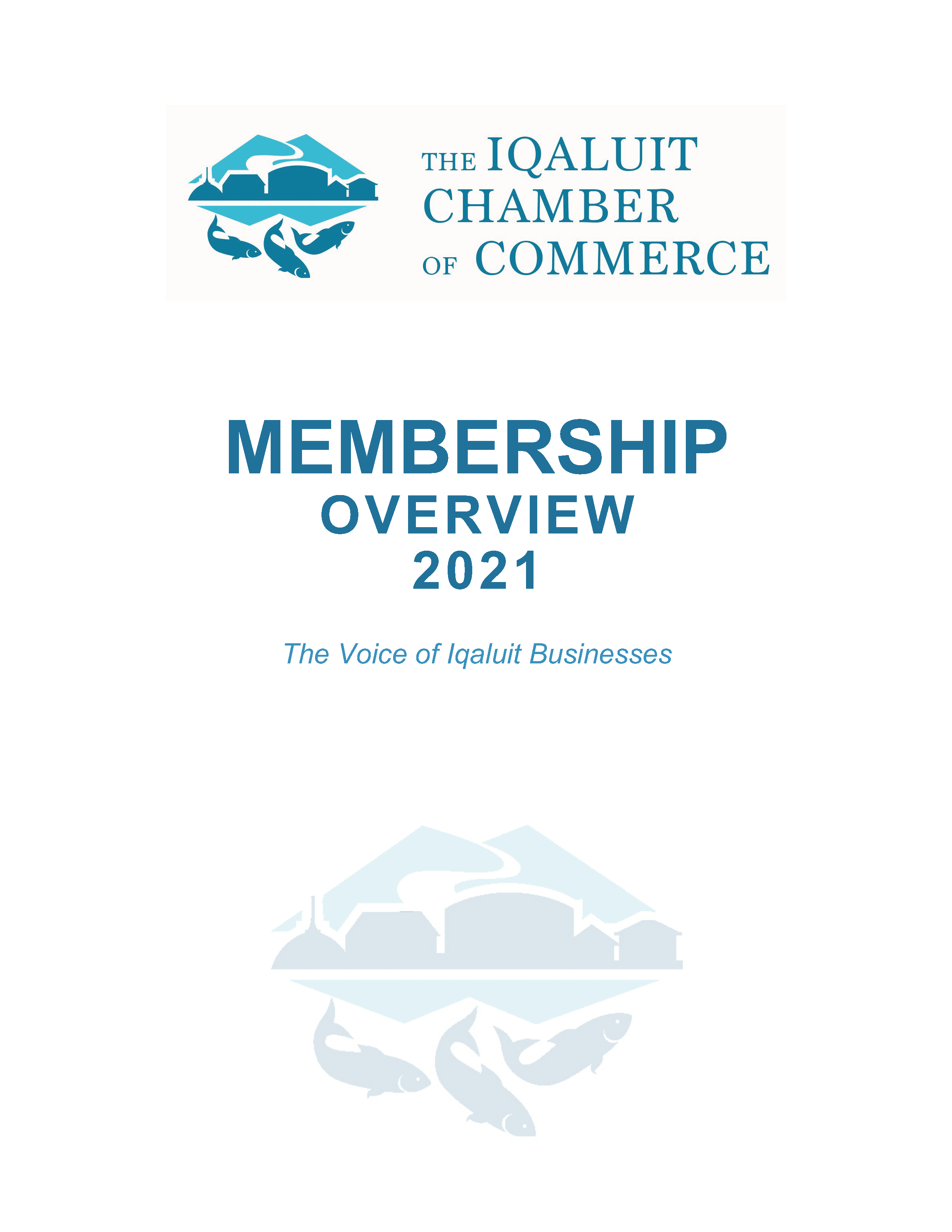 Cover ICC Membership Overview 2021